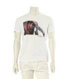 クロムハーツ CHROME HEARTS Tシャツ カットソー 白 ホワイト F トップス 半袖 コットン100% ローリングストーンズ 丸首