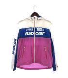 バボラット Babolat ジャケット テニスウェア ジップアップ メッシュ L 白 ホワイト /ey0206