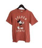 ロンハーマン Ron Herman DISNEY STANDARD CALIFORNIA GOLDEN STATE TEE トリプルネーム Tシャツ ミッキー 半袖 コットン ピンク S
