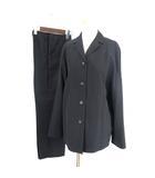 マーレンダム MARLENEDAM スーツ セットアップ テーラードジャケット シングル 4B ミドル スラックス 黒 ブラック 42 40