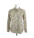 スティーブンアラン Steven Alan アメリカ製 シャツ 長袖 花柄 フラワー コットン マルチカラー P ■VGP0