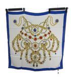 カルティエ Cartier シルク スカーフ 宝石柄 マルチカラー IBS67
