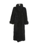 イヴサンローラン YVES SAINT LAURENT 毛皮 ジャケット  ミンク 茶 ブラウン IBS76