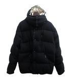 ヨウジヤマモト モンクレール MONCLER ダウンジャケット フード ウール 2 黒 ブラック MN-Y81-157