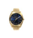 腕時計 Time Teller タイムテラー クオーツ A045-1931-00 All Light Gold / Cobalt 37mm 金 ゴールド