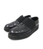 アルチザン ARTISAN フラットシューズ ローファー 革靴 レザー 36 1/2 黒 ブラック 靴