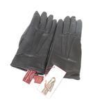 デンツ DENTS レザー グローブ ニット 手袋  黒 ブラック 7