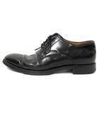 リーガル REGAL ビジネス シューズ 外羽根 プレーントゥ 革靴 レザー 黒 ブラック 靴 24 ■SM