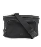 トゥミ TUMI VOYAGEUR ボヤージュ Mariel Hip Bag  ウェストバッグ ボディバッグ ワンショルダー ナイロン レザー 196331 黒 ブラック 鞄
