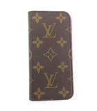 ルイヴィトン LOUIS VUITTON iphone 7/8 FOLIO フォリオ モノグラム 携帯電話ケース カバー M61906 ローズ ☆AA★