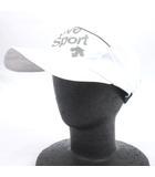 デサント DESCENTE MOVE SPORT ランニングストレッチ キャップ 帽子 DRALJC09 スポーツ 白 ホワイト F