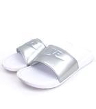 ナイキ NIKE BENASSI JDI ベナッシ シャワーサンダル スポーツ 343881-107 白 ホワイト シルバー 28 シューズ 靴
