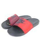 ナイキ NIKE BENASSI JDI ベナッシ シャワーサンダル スポーツ 343880-008 赤 黒 レッド ブラック 28 シューズ 靴