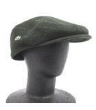 ラコステ LACOSTE ハンチング 帽子 ウール 緑 グリーン 59 兼用