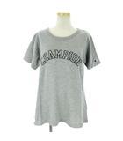 チャンピオン CHAMPION ソフトコットン グラフィック Tシャツ 半袖 CWSM343 グレー M