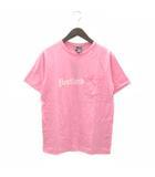 ナンバーナイン NUMBER (N)INE Tシャツ 半袖 ポケットT プリント PORTLAND コットン S14-NT007 ピンク 3