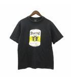 ナンバーナイン NUMBER (N)INE 02SS カート期 SEATTLE ROCK Tシャツ 半袖 プリント 歌詞 コットン 黒 ブラック 4