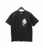 ナンバーナイン NUMBER (N)INE Tシャツ 半袖 HOPE プリント コットン 黒 ブラック 3