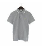 モンクレール MONCLER MAGLIA POLO MANICA CORTA ポロシャツ 半袖 ロゴ ワッペン コットン グレー S
