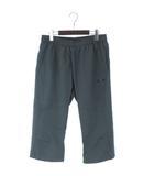 オークリー OAKLEY 18SS ENHANCE DOUBLE CLOTH 3/4 PANTS.QD 8.0 クロス クロップド パンツ 422435JP 青 ブルー グレー XL
