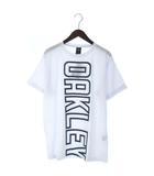 オークリー OAKLEY 17SS ENHANCE TECHNICAL QD TEE.17.03 Tシャツ カットソー 半袖 ロゴ プリント スポーツ アウトドア 456679JP 白 ホワイト XL