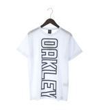 オークリー OAKLEY 17SS ENHANCE TECHNICAL QD TEE.17.03 Tシャツ カットソー 半袖 ロゴ プリント スポーツ アウトドア 456679JP 白 ホワイト M