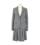 セオリー theory スーツ セットアップ ジャケット スカート ウール グレー 0