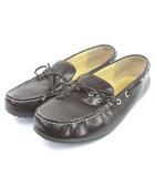 B&Y ユナイテッドアローズ BEAUTY&YOUTH ビューティー&ユース ローファー ドライビングシューズ レザー 茶 ブラウン 28 靴