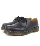ドクターマーチン DR.MARTENS 美品 3HOLE GIBSON 1461 ギブソン SMOOTH レースアップ シューズ レザー 11838002 黒 ブラック 7 靴