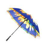 シャルル ジョルダン CHARLES JOURDAN 長傘 雨傘 花柄 フラワー ビビットカラー イエロー ブルー系