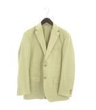 チャップス CHAPS テーラードジャケット ブレザー 長袖 シングル 背抜き ベージュ M