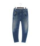 ディーゼル DIESEL FAYZA-NE Sweat jeans ジョグジーンズ デニム スウェット パンツ スキニー 青 ブルー 23