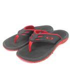 オークリー OAKLEY SUPERCOIL 15 スーパーコイル サンダル スポーツ ウォーターシューズ 10147-465 黒 赤 ブラック レッド 26 靴