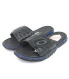オークリー OAKLEY Octane Slide サンダル スポーツ ウォーターシューズ 10134-001 黒 青 ブラック ブルー 26 靴