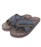 アナクロノーム anachronorm EASY SANDALS サンダル トング スエード 茶 ブラウン シューズ 靴
