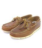 ティンバーランド Timberland TIDELANDS 2 EYE タイドランズ デッキシューズ モカシン レザー アウトドア SAHARA A1BHL 茶 ブラウン 25 靴