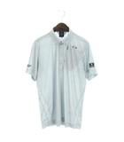 オークリー OAKLEY 19SS SKULL HIDDEN DIAGONAL SHIRTS ポロシャツ 半袖 BD ボタンダウン 総柄 ゴルフウエア 434391JP グレー XL