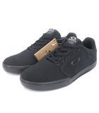オークリー OAKLEY CANVAS FLYER SNEAKER スニーカー キャンバス 13551-02E 黒 ブラック 27.5 シューズ 靴