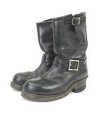 レッドウィング REDWING ブーツ エンジニア 2268 レザー 黒 ブラック 5D シューズ 靴 IBS5