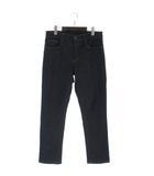 無印良品 良品計画 デニム パンツ SLIM インディゴ 紺 ネイビー 32