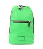 コーチ COACH ボディバッグ キャンパスパック ワンショルダー 71709 ペブルド レザー 緑 グリーン 鞄