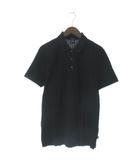 ヒューゴボス HUGO BOSS ポロシャツ 半袖 黒 ブラック L