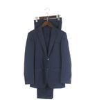 トゥモローランド TOMORROWLAND BLUE WORK NIKKE スーツ セットアップ シングル2B 紺 ネイビー 42