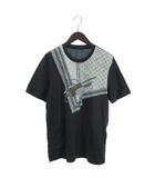 ルイヴィトン LOUIS VUITTON Tシャツ 半袖 プリント モノグラム 鞄柄 丸首 L グレー ■SM
