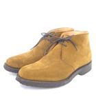 チャーチ church's ショートブーツ チャッカブーツ ライダー RYDER スエード ライトブラウン 6 シューズ 靴 ■SM