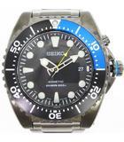 セイコー SEIKO 腕時計 キネティック ダイバー 200M防水 アナログ SKA579P1 5M82-0AF0 ブラック系 ■SM