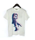 ワコマリア WACKO MARIA RUDEES Tシャツ 半袖 ラウンドネック コットン プリント 白 ホワイト S