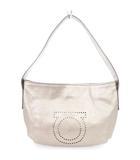 サルヴァトーレフェラガモ Salvatore Ferragamo バッグ ハンド セミショルダー ガンチーニ メタリック レザー 茶系 ブラウン系 鞄