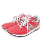 ニューバランス NEW BALANCE eYe COMME des GARCONS JUNYA WATANABE MAN スニーカー MRL996 CO レザー 赤 レッド 26.5 シューズ 靴 ■SM