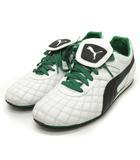 プーマ PUMA デルムンド LS Bis Italia 351919 フットサルシューズ 白 黒 緑 ホワイト ブラウン グリーン 27.5 靴 ■SM